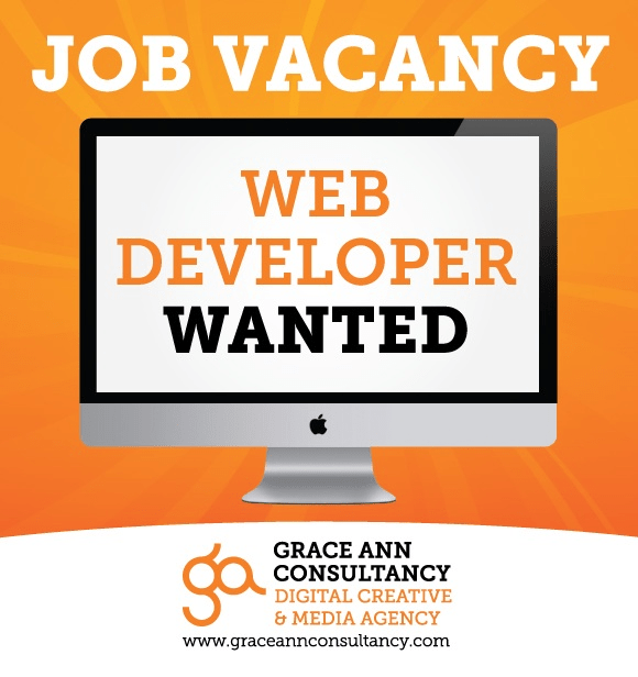 Job Vacancy Grace Ann Consultancy Looking For A Web