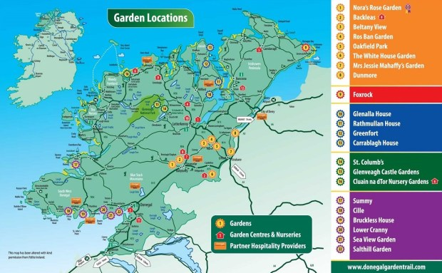 Donegal Garden Trail 2018 Donegal Gathering Festivals