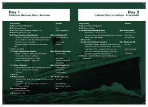 Laurentic Conference Timetable 2