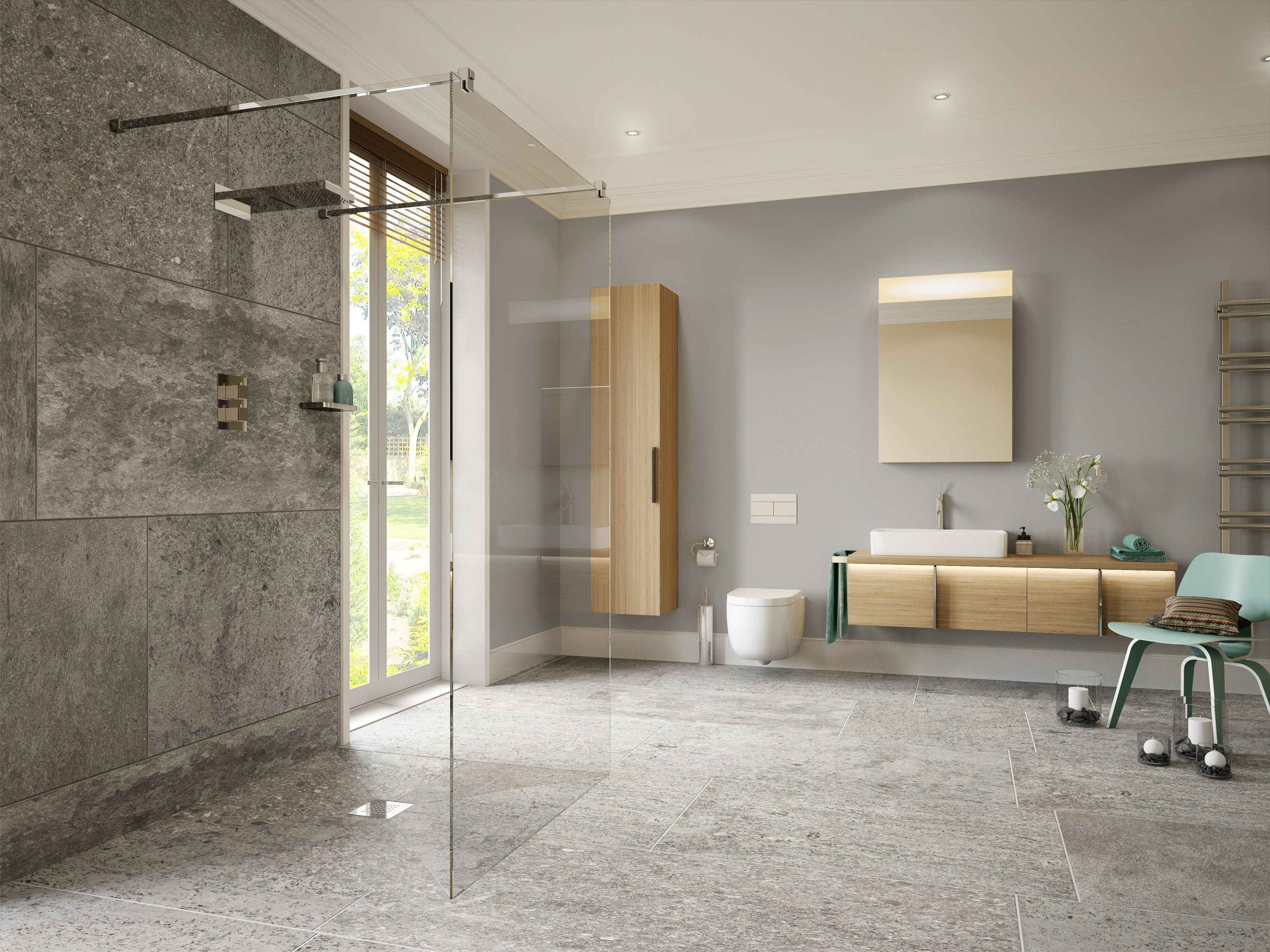 Shower Screens and Wet Room Glass