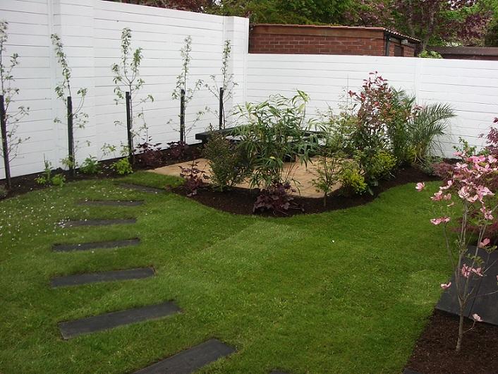 Small Gardens – Good Design – Peter Donegan Landscaping Dublin