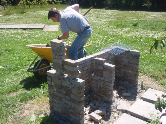 barbeque building walls