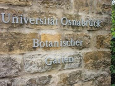 university of osnabruck botanical gardens