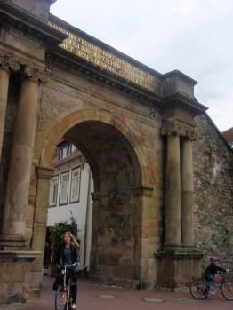 osnabruck altstadt town entrance