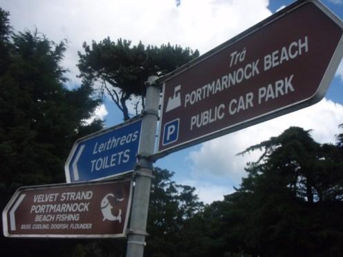 portmarnock-co-dublin-signage