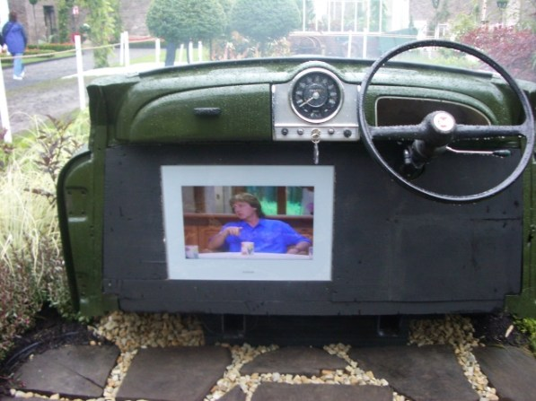 garden television