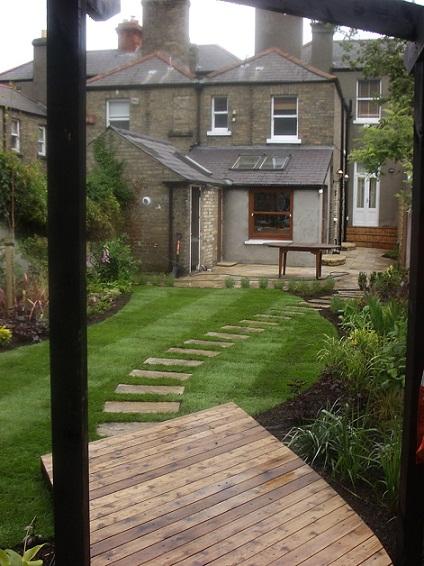 rear garden image