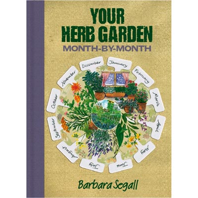 Your herb garden month by month book Barbara Segall