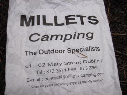 millets camping