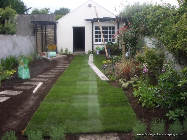 Dublin Landscaping: Domestic Back Garden - Peter Donegan ...