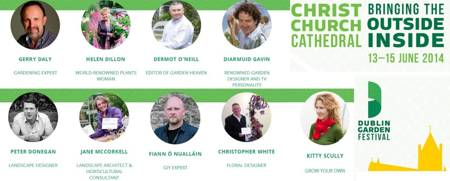 dublin garden festival, speakers