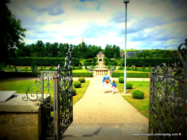 formal gardens, royal hospital kilmainham