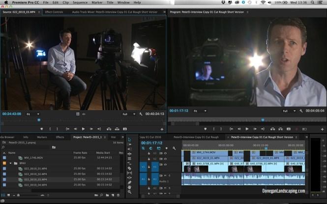 Donegan Landscaping video, directing media