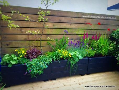 garden planters, donegan landscaping