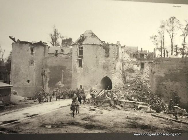 Peronne ww1, chateau (2)