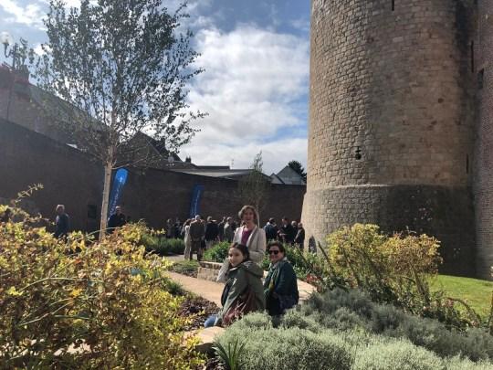 2019, Irish in France, historial jardin peronne