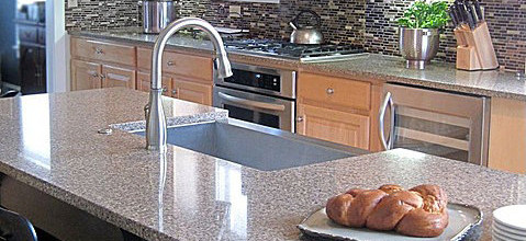 kitchen counter options stainless faucet 8 that will make you forget granite done