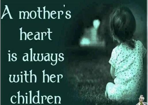 Hati Seorang Ibu Selalu ada Di Anaknya