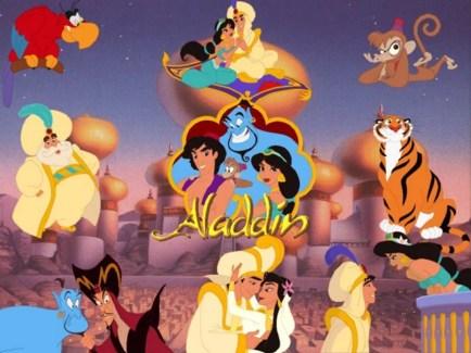 kisah aladin puteri jasmine jin dan lampu ajaib