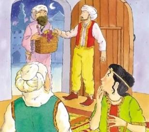 Perampok menyamar datang ke rumah Ali baba