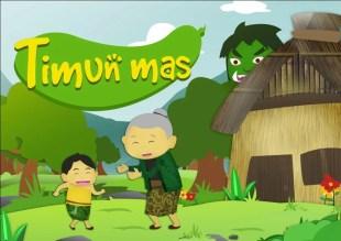 Cerita dongeng timun mas dari Jawa Tengah tumbuh menjadi anak yang sehat dan sangat cantik