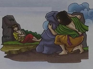 Qabil membunuh Habil - Cerita Anak Nabi Adam