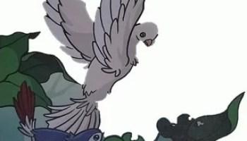 Gambar Dongeng Petani Yang Baik Hati Dan Burung Pipit Paimin Gambar