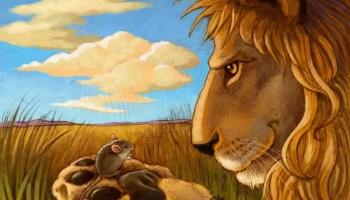 Fabel Anak Kisah Dongeng Singa dan Tikus baik