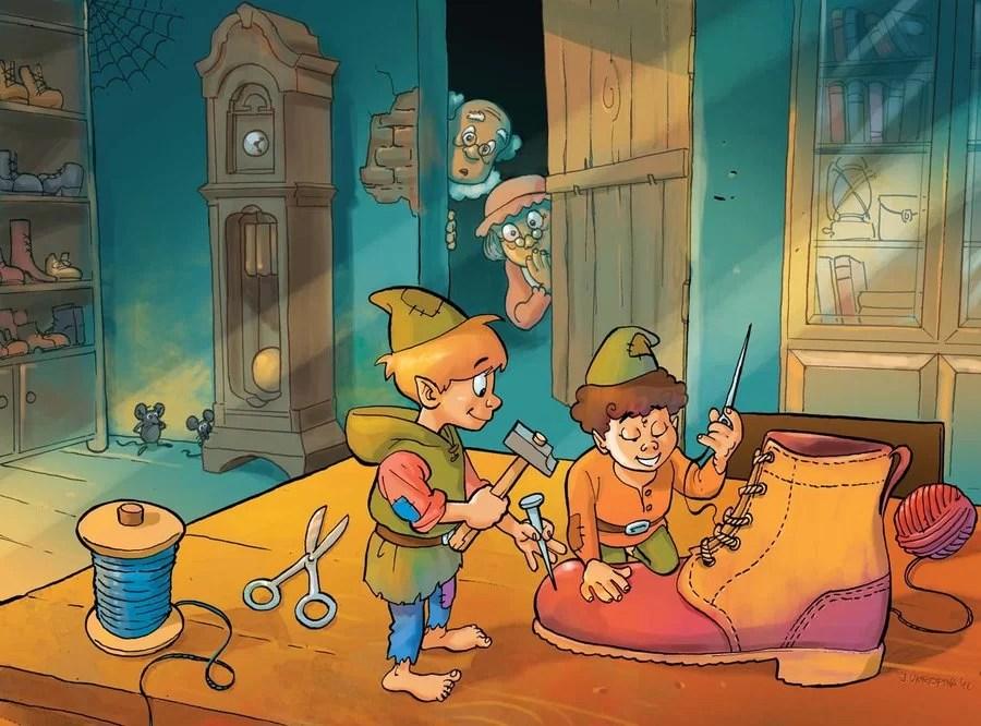 Cerpen Dongeng Anak peri yang baik hati dan seorang pembuat sepatu