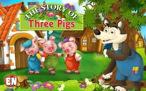 Dongeng Tentang Binatang Kisah Tiga Babi