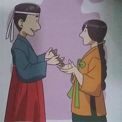 Contoh Cerita Bergambar Untuk Anak SD dari Korea