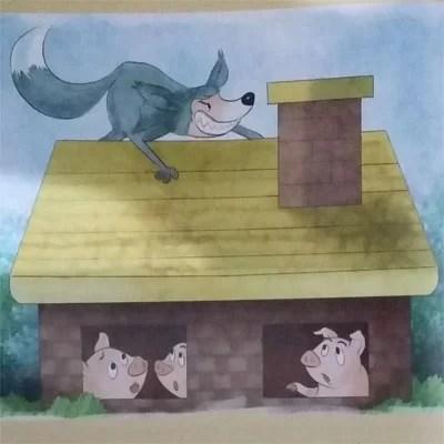 Contoh Cerita Anak Dongeng Fabel Tiga Babi
