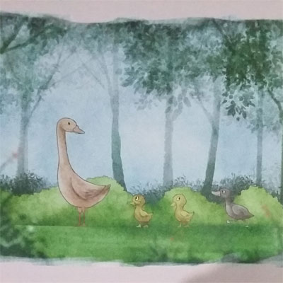 Dongeng Fabel Anak Dunia : Kisah Bebek Buruk Rupa