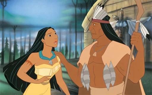 dongeng putri Pocahontas
