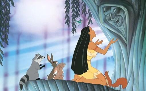 dongeng princess Pocahontas