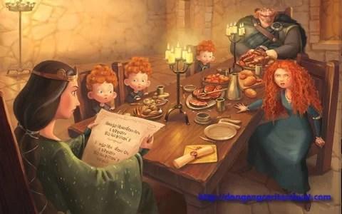 kisah putri merida disney