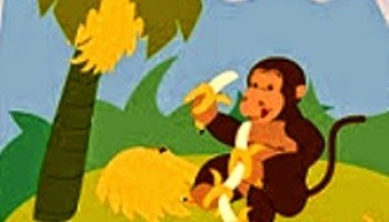 Gambar Monyet Dan Anaknya Animasi Dongeng Anak Fabel Monyet Penipu