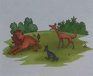 cerpen cerita rakyat pendek hyena pengadu domba