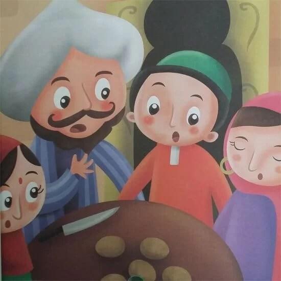5. Cerpen Anak Singkat Dheda dan Lima Butir Kentang