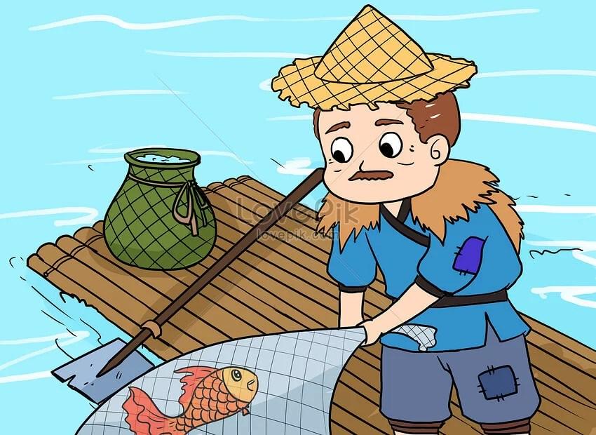 Cerpen Rakyat Singkat Nelayan dan Ikan Ajaib