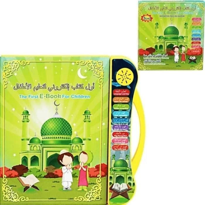 Mainan Edukatif Anak Muslim Ebook 3 Bahasa