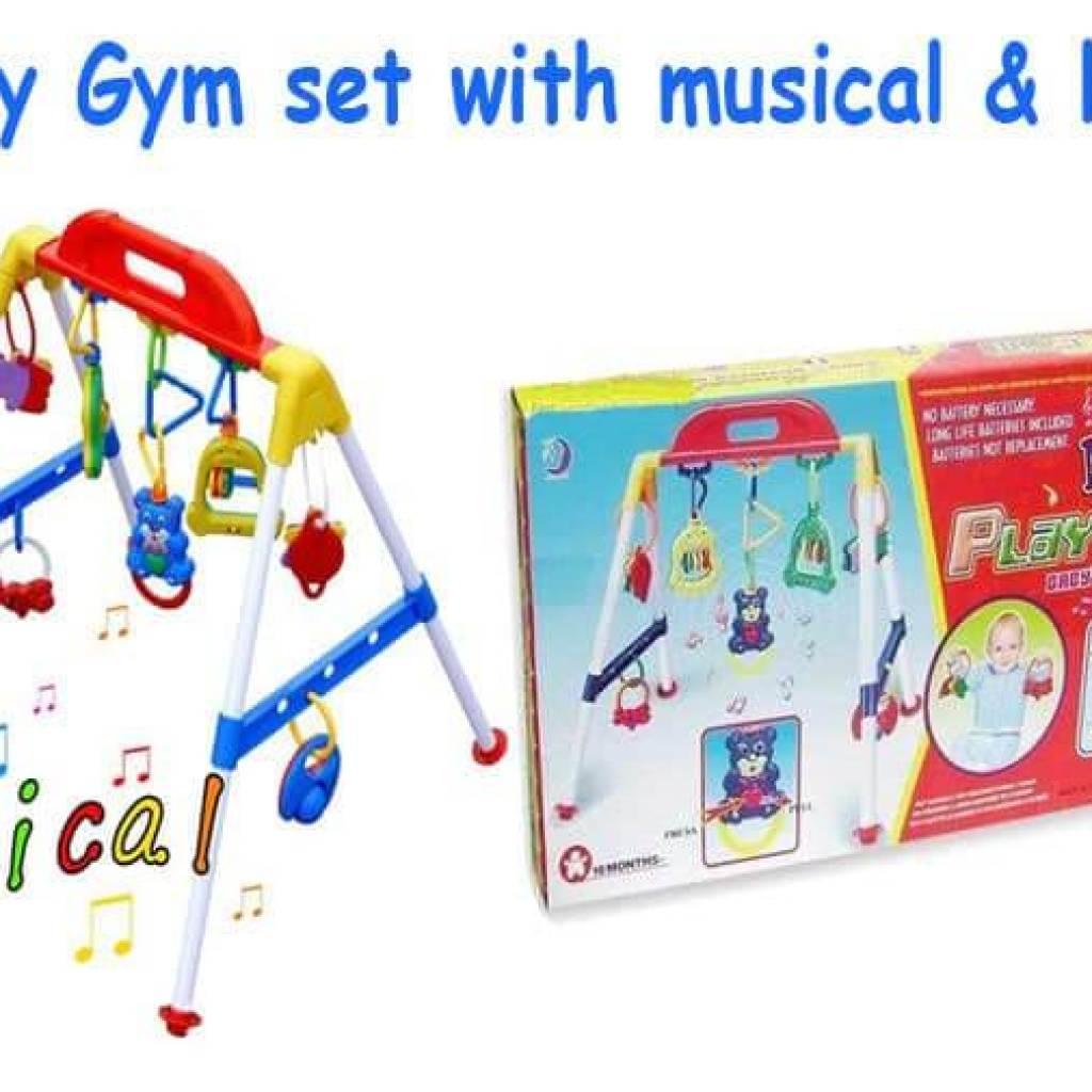 Mainan Edukatif Bayi Baby Musical Play Gym