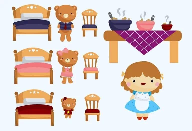 Goldilocks dan Tiga Beruang