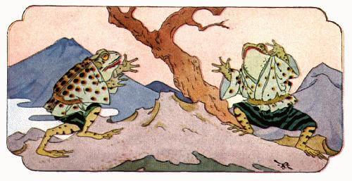 Fabel Jepang Cerita Dua Katak