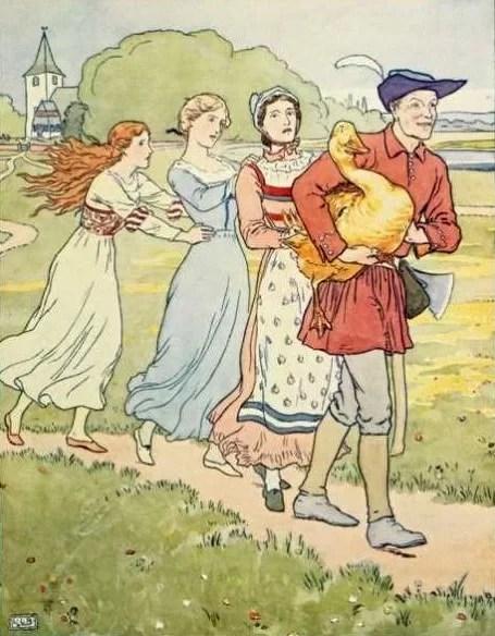 Cerita Rakyat German Brothers Grimm Simpleton dan Angsa Emas