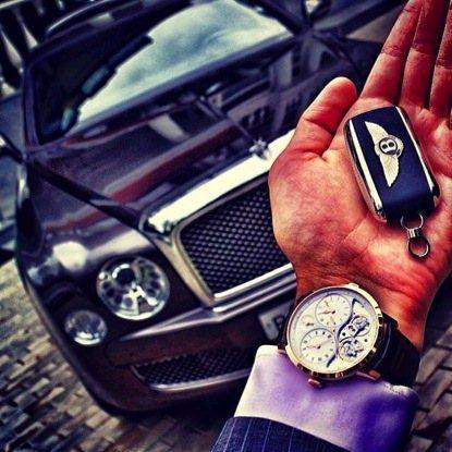 Đồng hồ xịn và xe sang - Sự kết hợp hoàn hảo (P1) 3