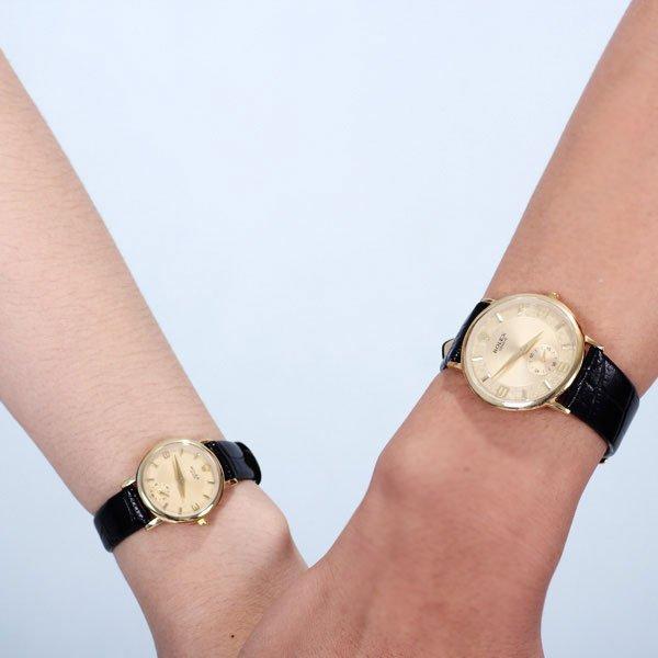Các mẫu đồng hồ cặp đôi thời trang cá tính 2014