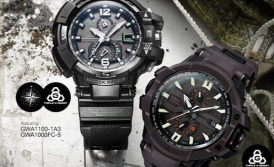 Chiếc đồng hồ G- Shock thật và giả