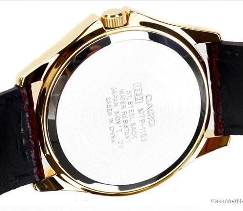 Đồng hồ casio nữ dây da chính hãng mua ở đâu