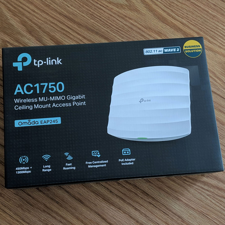 TP-Link EAP245 v3 Omada PoE Access Point Review - Dong Knows Tech